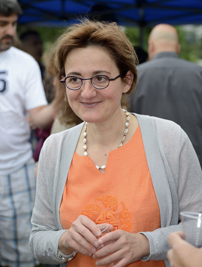 Colette Mai, infirmiere libérale à Sainte-Geneviève-des-Bois